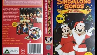 Sing Along Songs - The Twelve Days of Christmas [VHS] (1994)