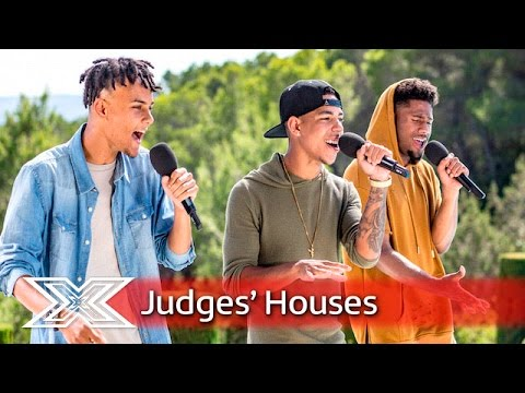 Can 5 AM Make Louis Feel Their Vibe? | Judges' Houses | The X Factor 2016