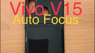 Phone Case Vivo V15 ~ Auto Focus