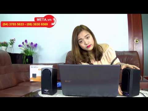 META.vn - Đập hộp loa vi tính SoundMax A150 2.0