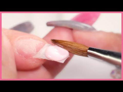 How To Apply Acrylic Nails For Beginners