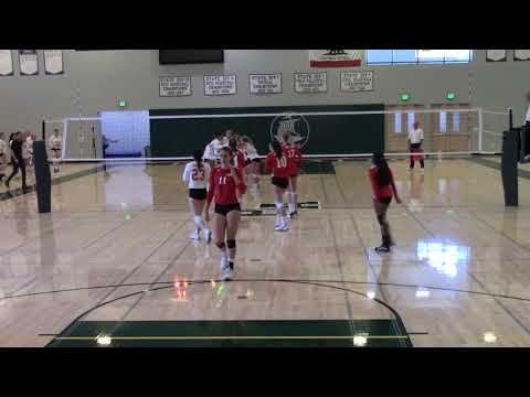 2019 CCS Championships Girls Volleyball Burlingame v. Aptos - Game 4