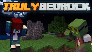 The Moon is Falling! Truly Bedrock SMP | Season 1 | Episode 1