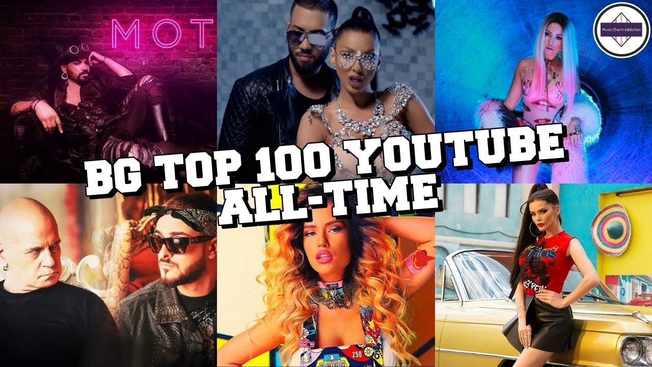 Bulgaria Top 100 Most Viewed Songs Of All Time December 2020 топ 100 най гледаните български песни Youtube
