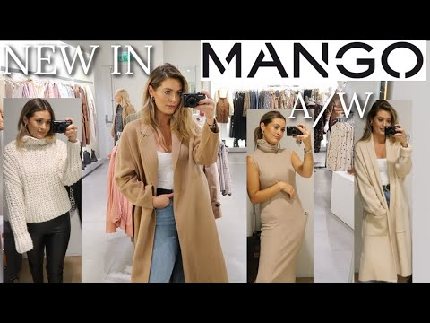 NEW IN MANGO | COME SHOPPING WITH ME | AUTUMN / WINTER | FALL TRY ON HAUL