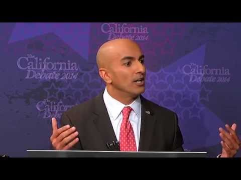 Debate: Gov Jerry Brown vs Neel Kashkari for Governor of California
