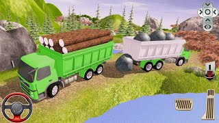 Kamyon Simülatör Oyunu Kargo  Taşıma || Offroad Cargo Truck Transport Simulator screenshot 2