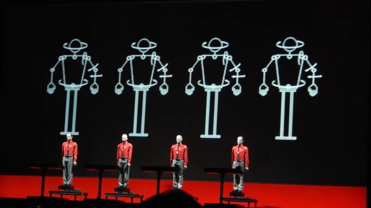 Kraftwerk - The Robots 3D (Beograd, Arena 24.02.2018 ...Kraftwerk The Robots