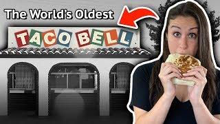 We Visit The World's OLDEST Taco Bell 🌮🛎