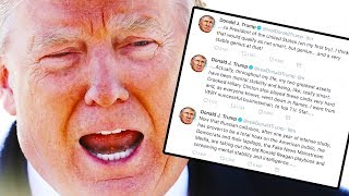 Trump Frantically Tweets How Stable He Is