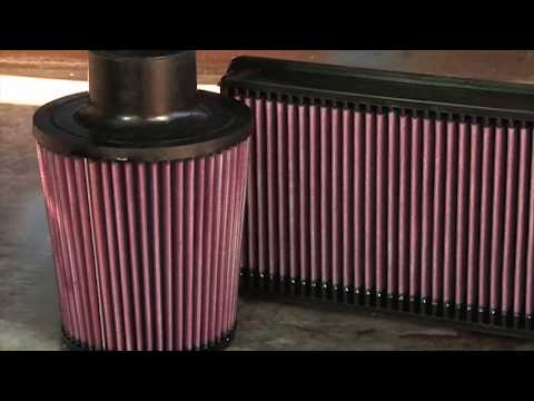 How to - Clean a K&N Air Filter