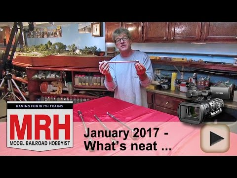 What's neat – Jan 2017 column   Model railroad tips   Model Railroad Hobbyist   MRH