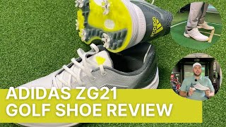 ADIDAS ZG21 GOLF SHOE REVIEW (FIRST LOOK)