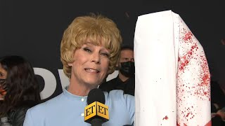 Jamie Lee Curtis Pays Tribute to Mom at Halloween Kills Premiere (Exclusive)