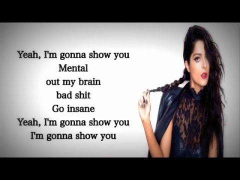 Bebe Rexha - I'm gonna show you Crazy (Lyrics)