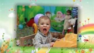 Пример детского слайдшоу для семейных праздников