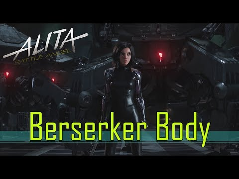 Alita Battle Angel - GUNNM: The Berserker Body Explained (Mild Spoiler)