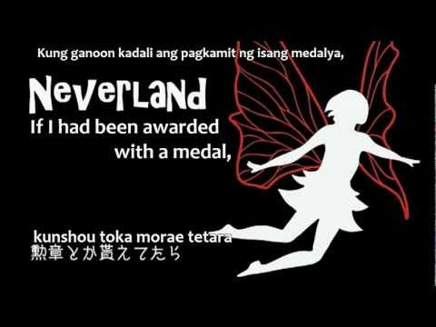 [KEI feat. VY1] Neverland (English+Romaji+Tagalog Subbed) +mp3 + off vocal