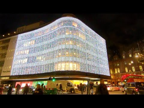🎄 CHELSEA CHRISTMAS LIGHTS SWITCH-ON with SANTA 🎅 Walking Tour of Duke of York and Sloane Squares 🇬🇧