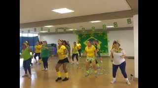 ACM Alphaville aula ritmos brasileiros prévia para Copa 2014 11/06