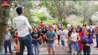 Kapadokyada Yoga Yapan Sau Turizm Misafirleri