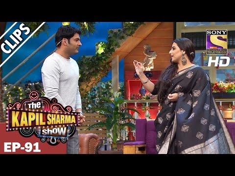 Vidya Balan Compliments Kapil Sharma-The Kapil Sharma Show - 19th Mar 2017