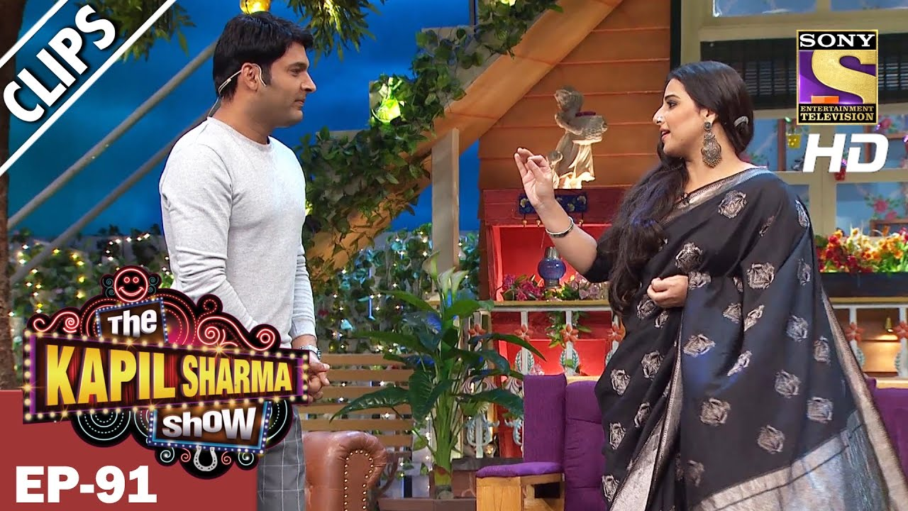Download Vidya Balan Compliments Kapil Sharma-The Kapil Sharma Show - 19th Mar 2017
