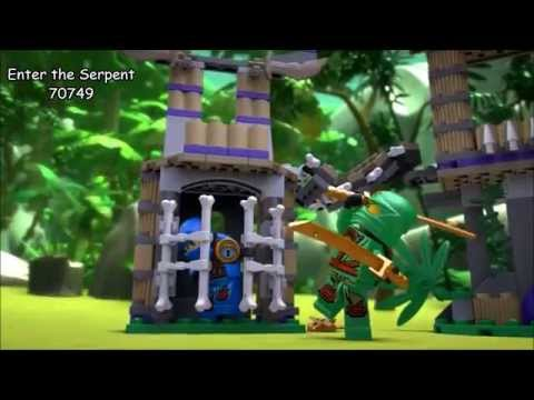 LEGO Ninjago - Ninjago 2015 Sets Videos Wave 1 HD