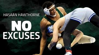 Double amputee wrestler Hasaan Hawthorne doesn't accept failure