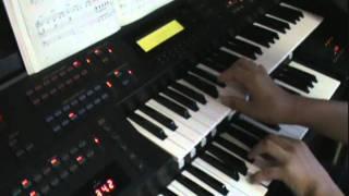 Hitomi---I am  (Pitch change & High tempo ver )   Electone EL500