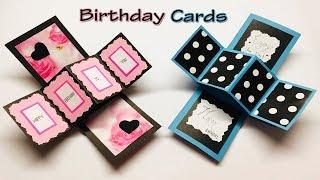 how To Make Handmade Card - New Year Card / Как сделать новогоднюю открытку