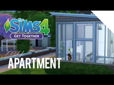 Building My RL Apartment — The Sims 4 — LIVE STREAM