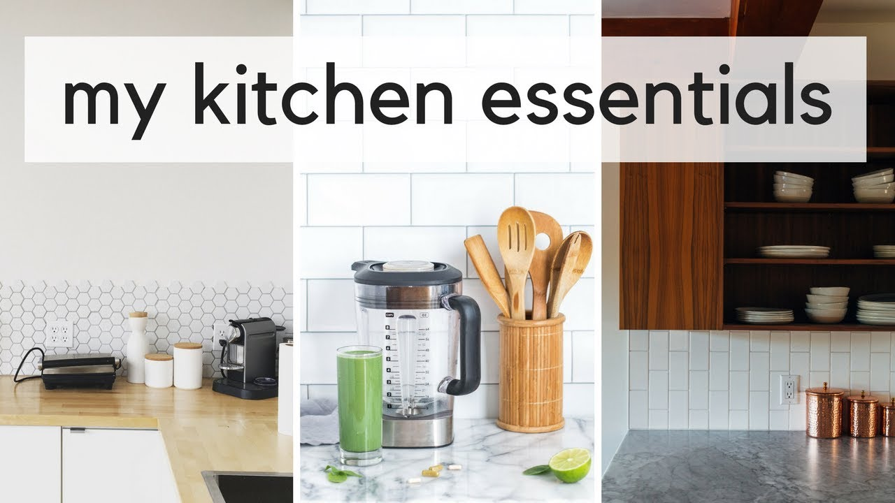 title | Minimalist Kitchen Essentials