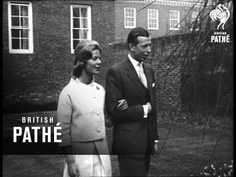 Engagement Of The Duke Of Kent To Miss Katharine Worsley    (1961)