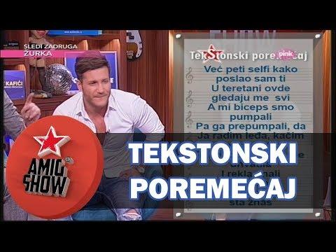 TekStonski Poremećaj - Saša Kovačević - Kažeš ne (Ami G Show S10)