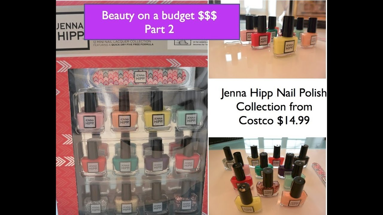 Beauty On A Budget Review Jenna Hipp Nail Polish Collection Youtube