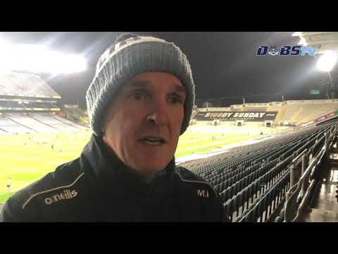 Mattie Kenny chats to DubsTV after Leinster semi final defeat to Kilkenny