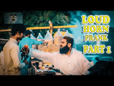 Loud Horn Prank (Part 1) By |Frank Lab TV| Very Funny