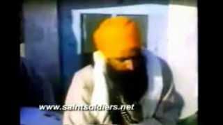 Sant Jarnail Singh Bhindranwale Transmitter Matter