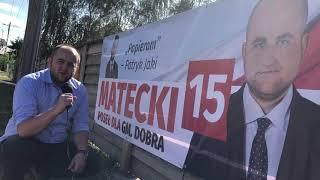 Mieszkańców Gminy Dobra proszę o głos! Dariusz Matecki nr 15 na liście PiS