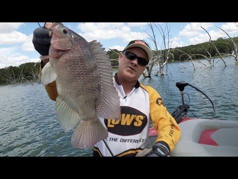 Fox Sports Outdoors SOUTHWEST #27 - 2014 Squaw Creek Texas Tilapia Fishing