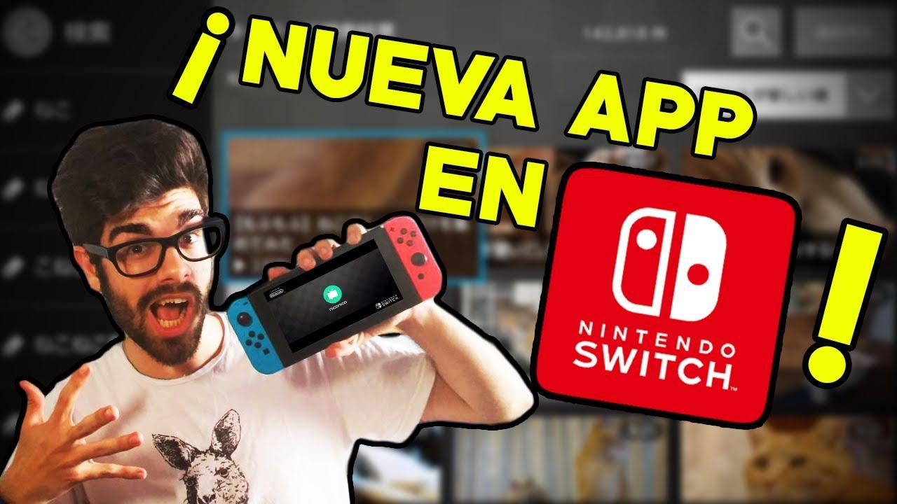 La Primera Aplicacion Oficial Para Nintendo Switch Como