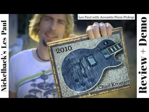 2010 Gibson Les Paul Chad Kroeger Blackwater Signature Guitar Review + Demo