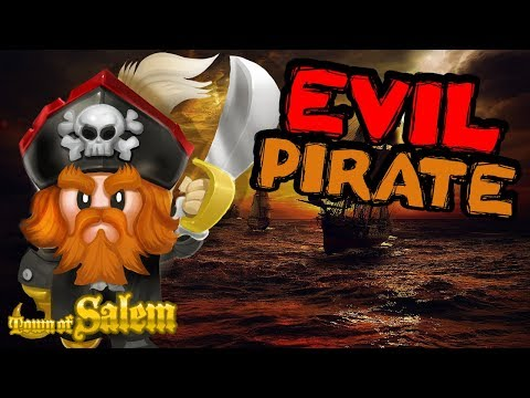 EVIL PIRATE |Town of Salem | VIP Custom Coven