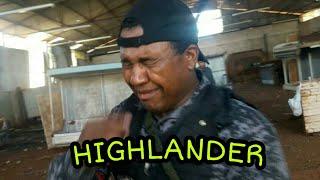 HIGHLANDER RECEBENDO LIÇÃO - AIRSOFT OURINHOS SP