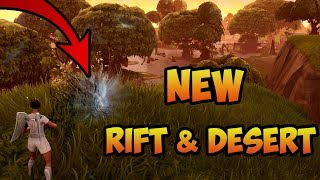 SEASON 5 *NEW* SECRETS FOUND - SAND ON FORTNITE MAP & NEW RIFT! (Fortnite Battle Royale)