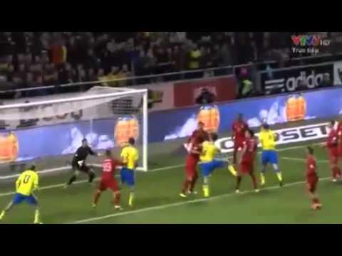 Bồ Đào Nha 3 - 2 Thuỵ Điển  20/11/2013