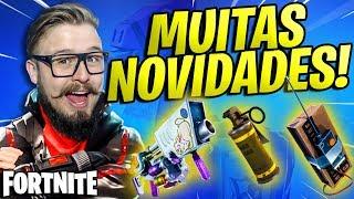 FORTNITE - ARMA DE PÁSCOA, NOVA GRANADA, C4 E MUITO MAIS!