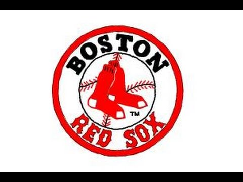 how to draw the boston red sox logo - youtube