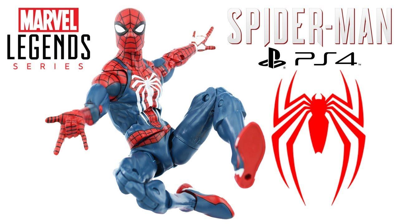 Spider Man Ps4 Marvel Legends Review Boneco Homem Aranha Do Game